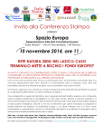 ReteNatura-FondiEuropei_Conferenza stampa