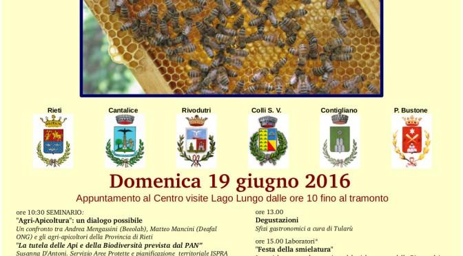 Il 19 giugno Festa della Smielatura alla Riserva dei Laghi Lungo e Ripasottile