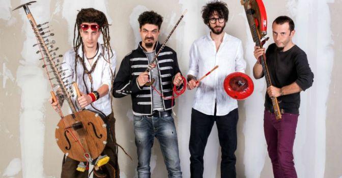 Greccio: i Riciclato Circo Musicale e Marco Graziosi per promuovere una nuova cultura ambientale